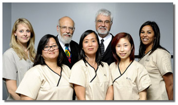 Cosmetic Dentistry in Toronto - Dr. Glazer and staff
