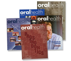 Dr. Glazer as seen in the Oral Health Magazine